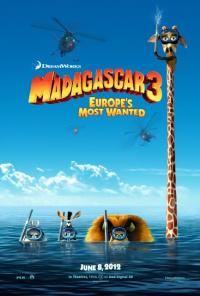 Madagaskar 3: Avrupa'nın En Çok Arananları - Madagascar 3: Europe's Most Wanted [3D]
